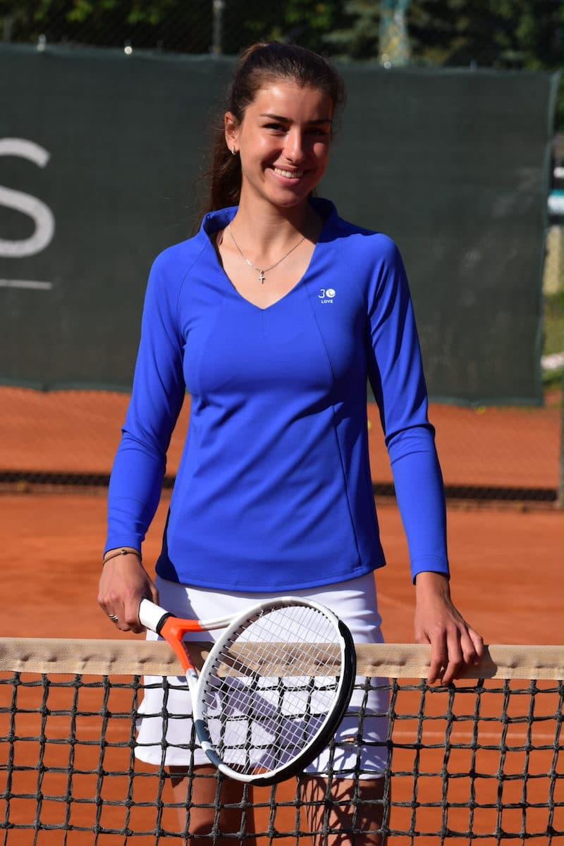 Damen Langarmshirt Tennis Mary